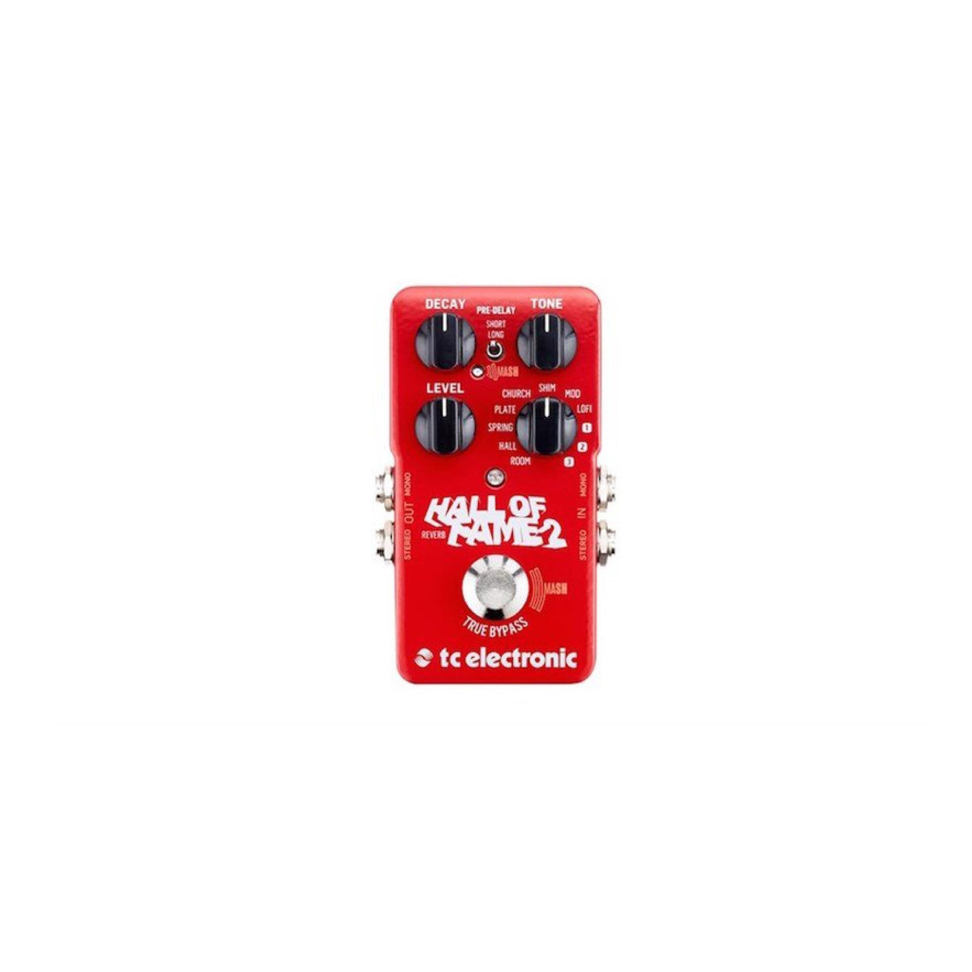 TC Electronic Hall Of Fame 2 Reverb Pedal (Pre-Order) - Gears For Ears