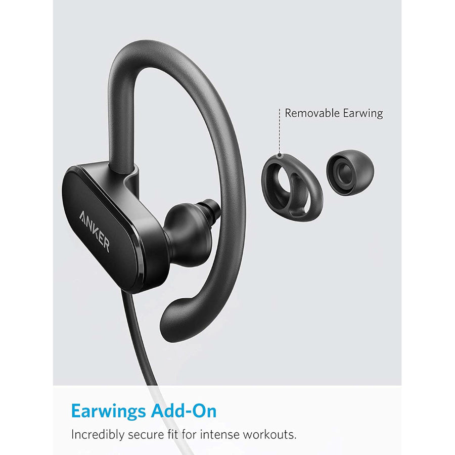Anker SoundBuds Curve Bluetooth 4.1 Sports Earphones with Pouch