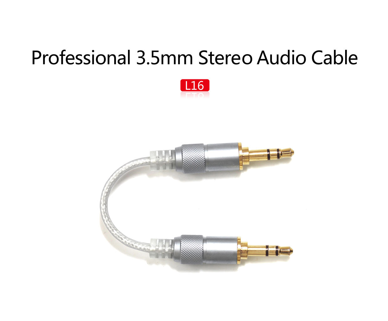 FiiO L16 stereo audio cable - Gears For Ears