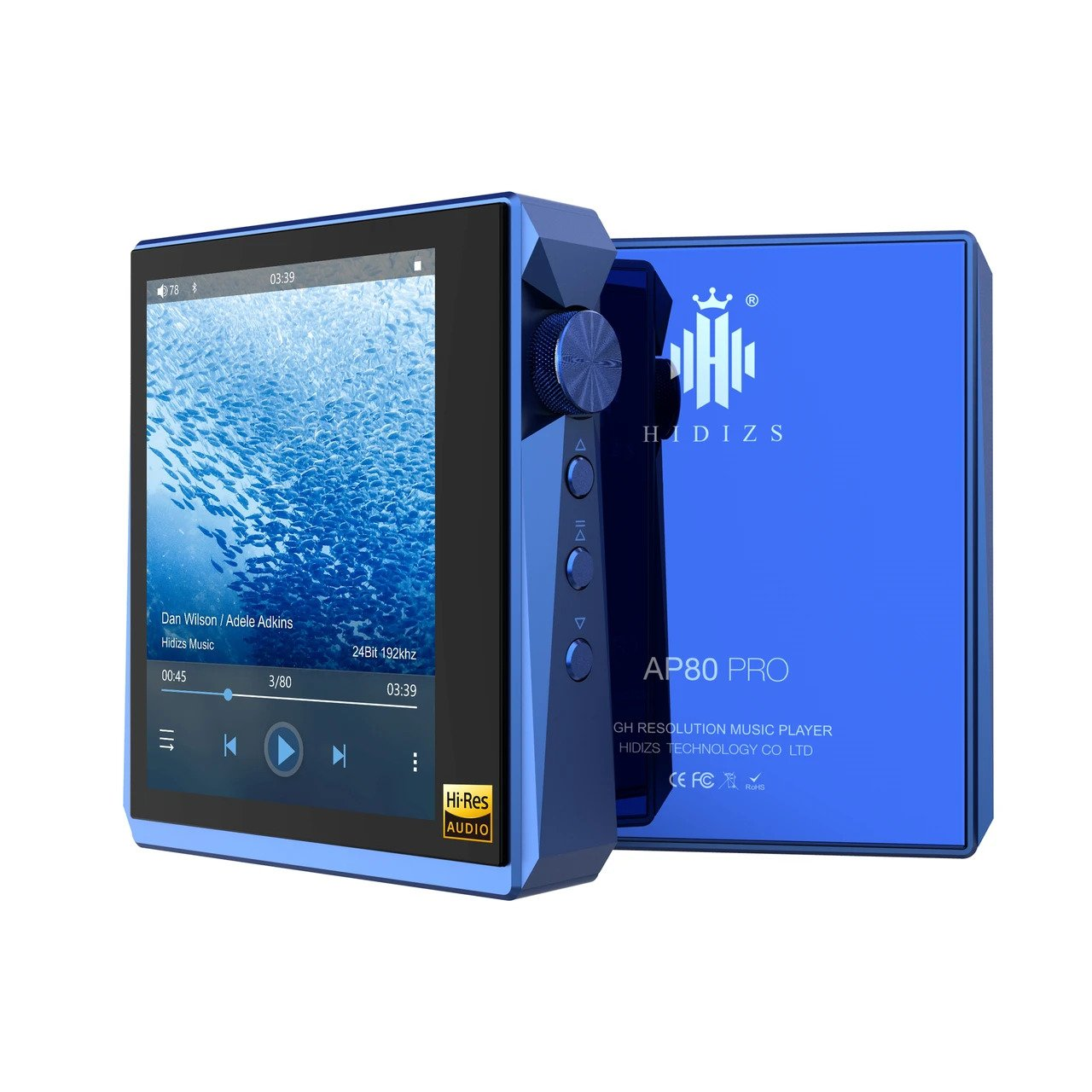 Hidizs AP80 Pro  Portable Music Player - Gears For Ears