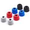 4Pairs(8pcs) Wooeasy Noise Isolating Memory Foam tips 3mm/5mm T100/T400 Ear Tip - Gears For Ears