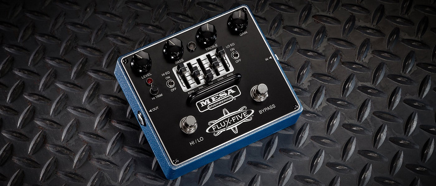 Mesa Boogie Flux-5 Distortion Pedal (Pre-Order) - Gears For Ears