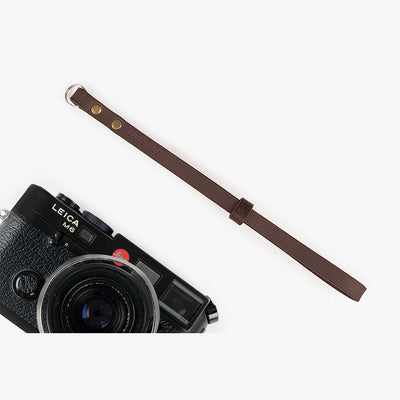 Berlin #202 - Brown Leather camera strap