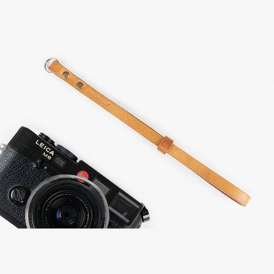 Berlin #203 - Tanned Leather camera strap