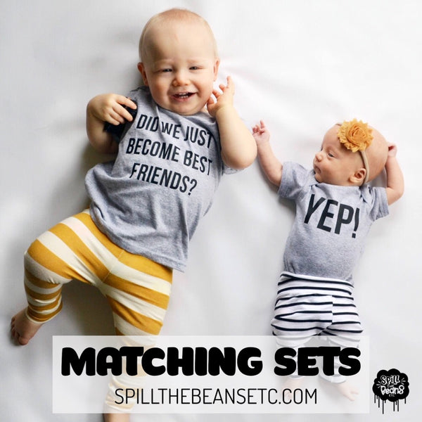 Matching Tees and BFF Sets