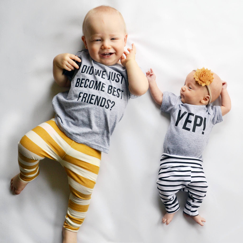 Matching Best Friend Tees Twins Did We Just Become Best Friends? Yep! – spillthebeansetc.com