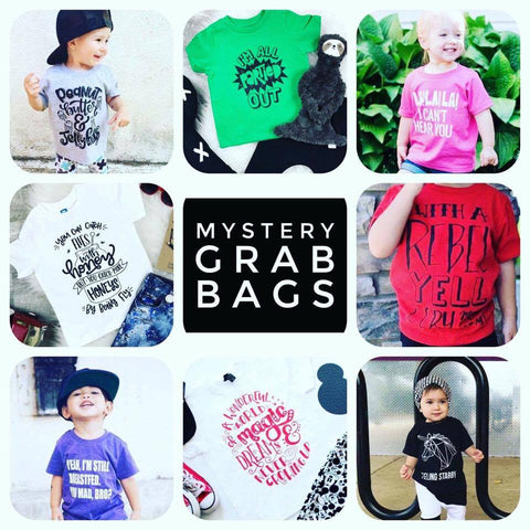 Mystery Tee Grab Bags! Save up to 50% off Youth Sizes