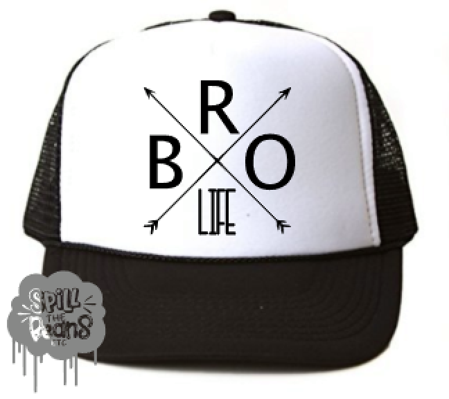 BRO Life Toddler SnapBack Trucker Hat