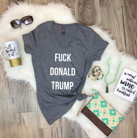 F*ck Donald Trump Adult Tee