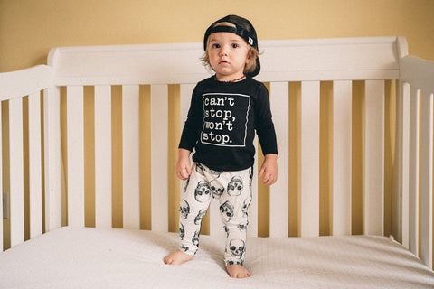 Can't Stop, Won't Stop Toddler tee