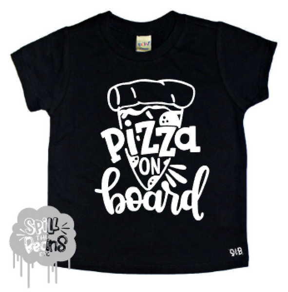 Pizza On Board Kid's Tee