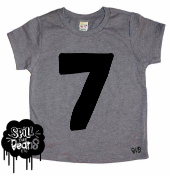 Seven Seventh Kid's Tee