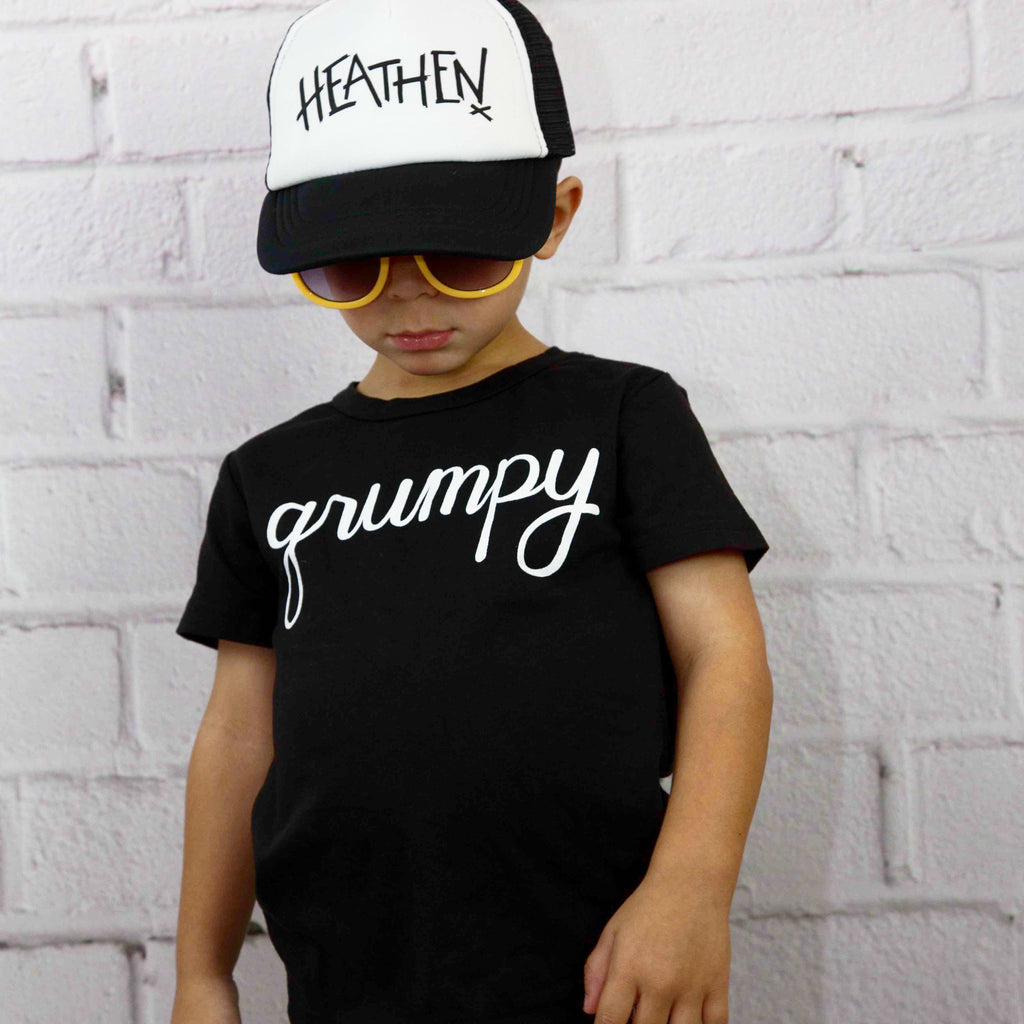 Heathens Toddler SnapBack Trucker Hat