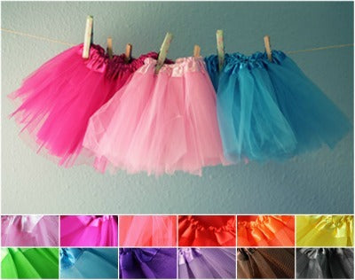 Tutu Ballerina Tulle Skirt Infant-Toddler-Youth
