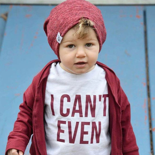 I Can't Even Kid's Tee Or Bodysuit