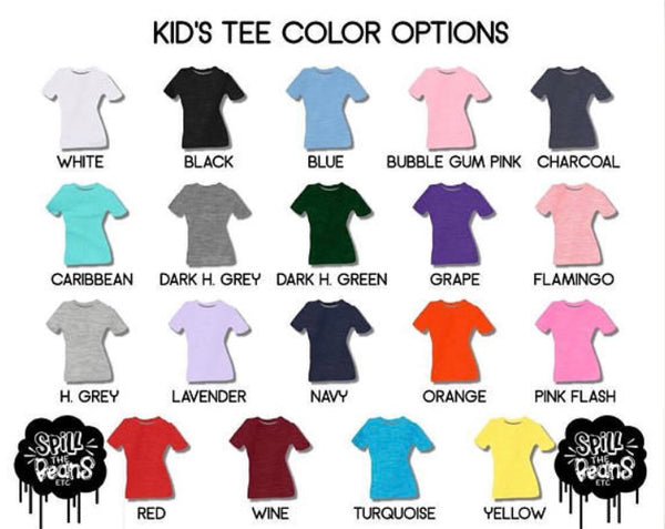 LGBTQI+ Heart Kids tee