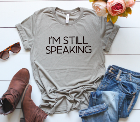 I'm Still Speaking Vice Presidential Debate Tee Biden F*ck Trump Adult Tee