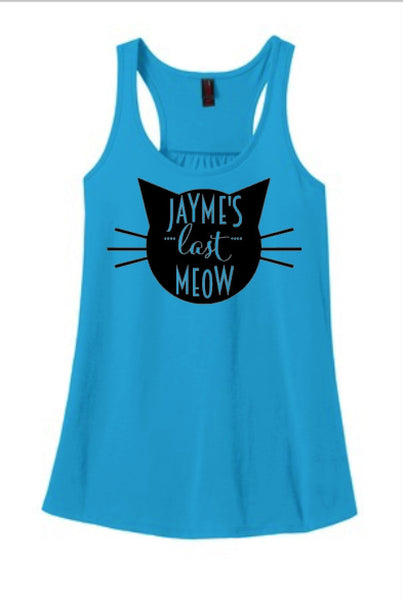 Getting Meowed Bachelorette Party Tanks or Tees