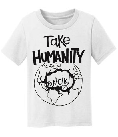 Take Humanity Back Equality Freedom Tee (donation to ACLU with each purchase)