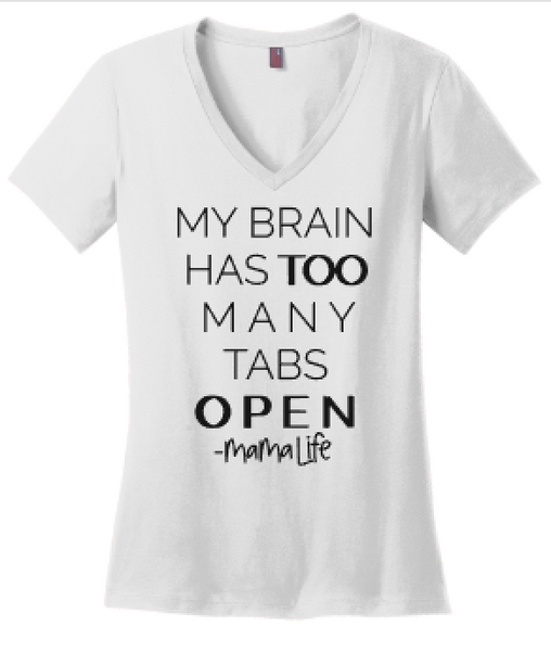 My Brain Has Too Many Tabs Open -Mamalife
