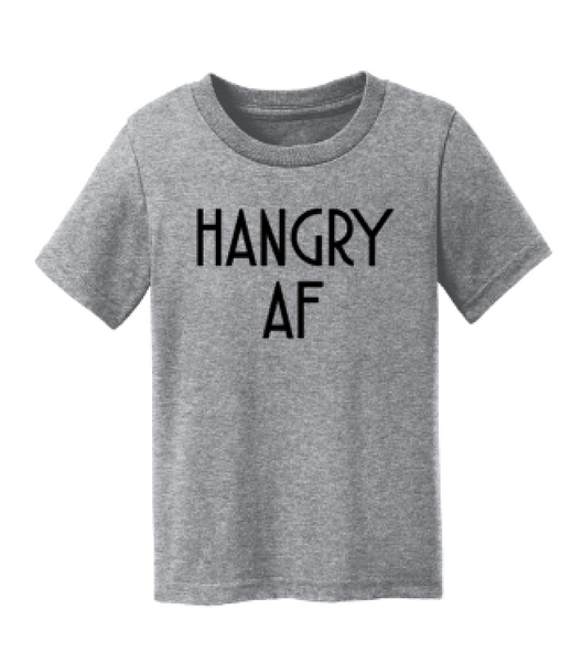 Hangry AF Toddler and Baby Tee