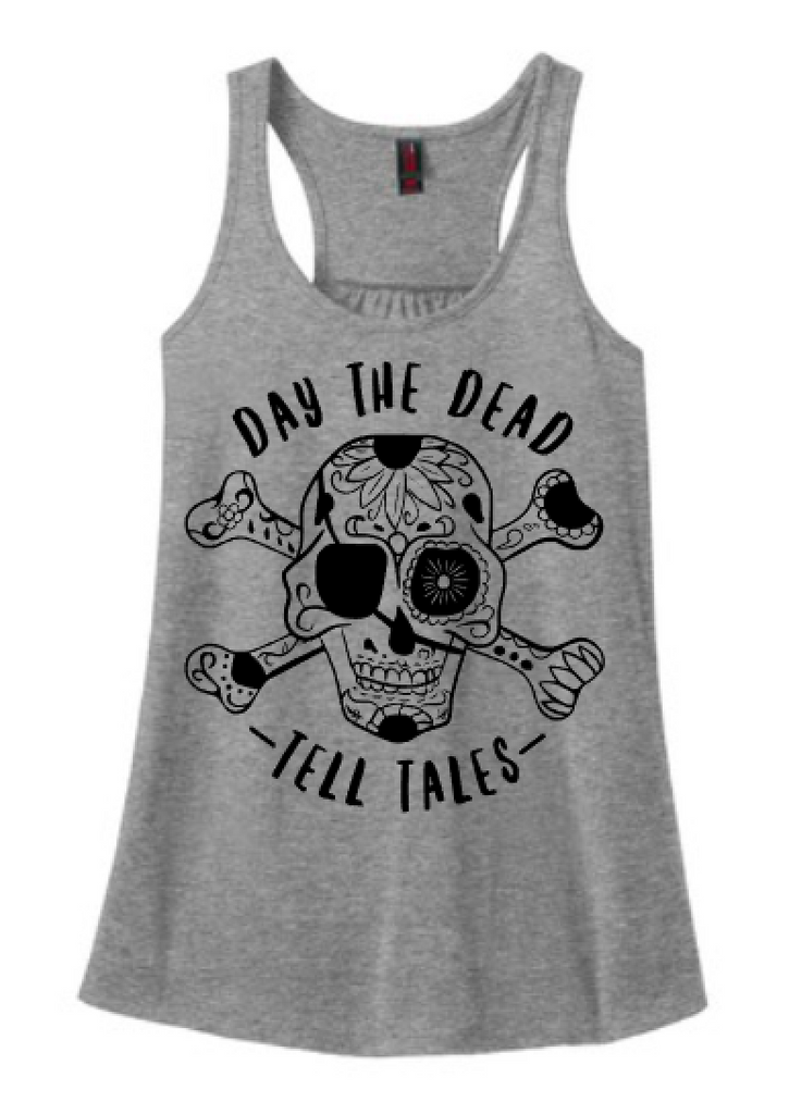 Day The Dead Tell Tales Tank Or Tee