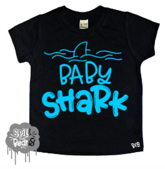 Baby Shark Toddler Tee
