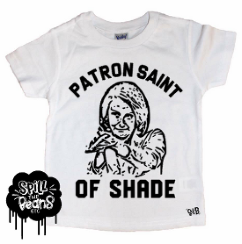 Patron Saint of Shade Nancy Pelosi Clap Back Kid's Tee or Bodysuit