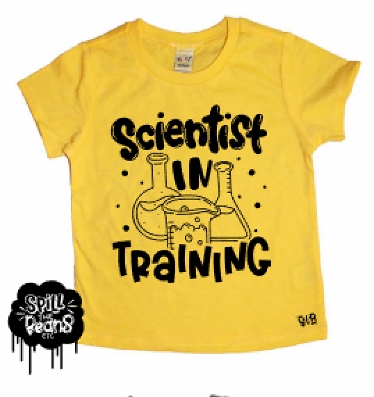 Scientist in Training Kids Shirt