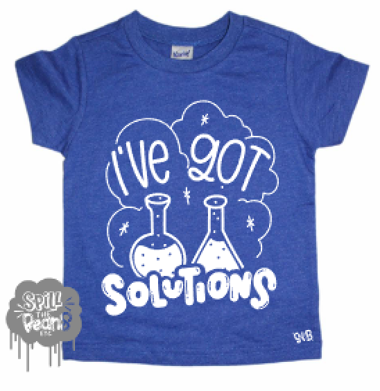 I've Got Solutions Kids Shirt