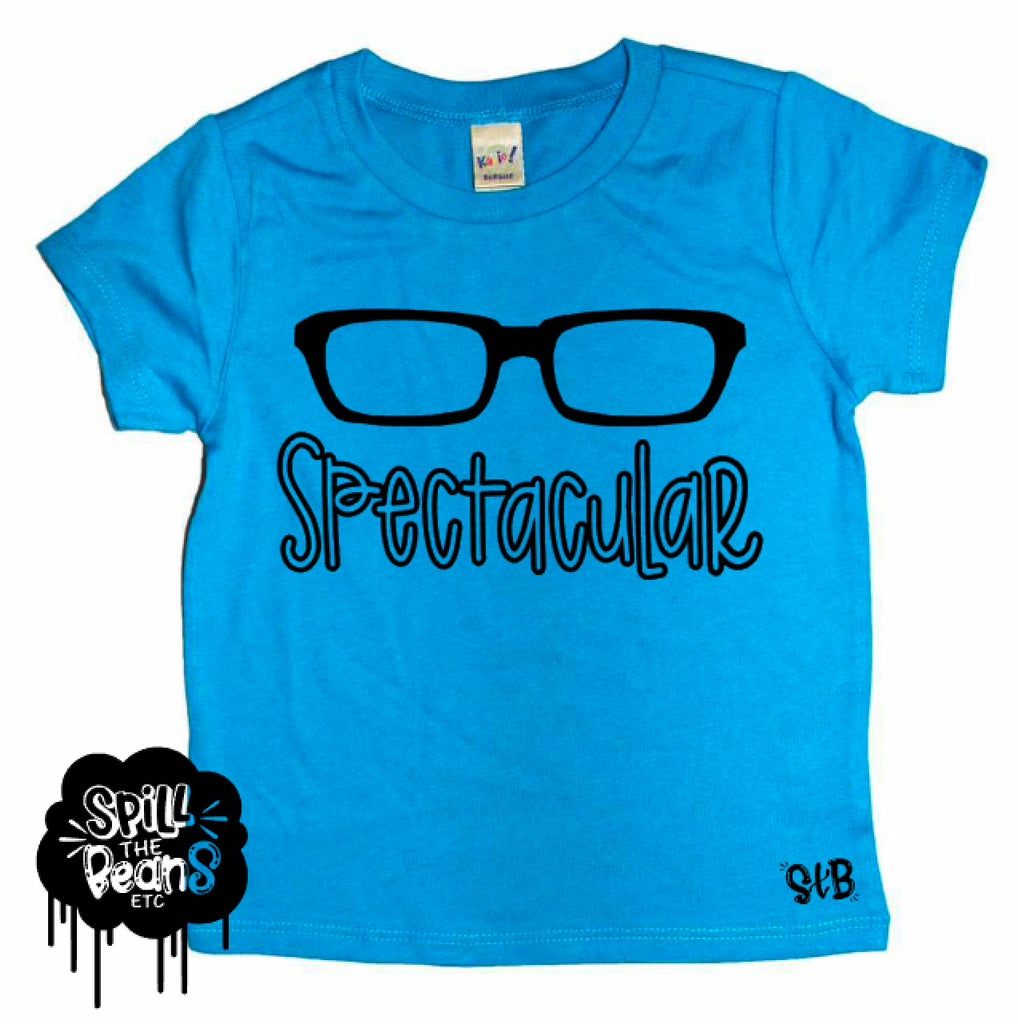 Spectacular Glasses Kids Bodysuit or Tee