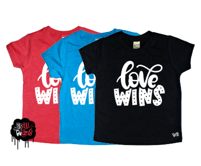 Love Wins Pride Month Tee
