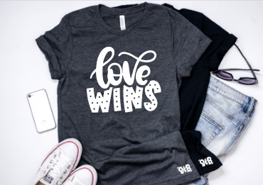 Love wins Adult Tee or Tank