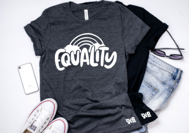Equality Adult Tee or Tank