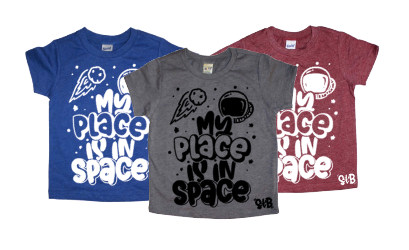 My Place is in Space KIDS TEE
