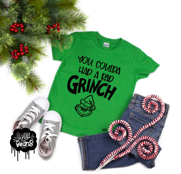 You Coulda Had a Bad Grinch Lizzo Christmas Tee