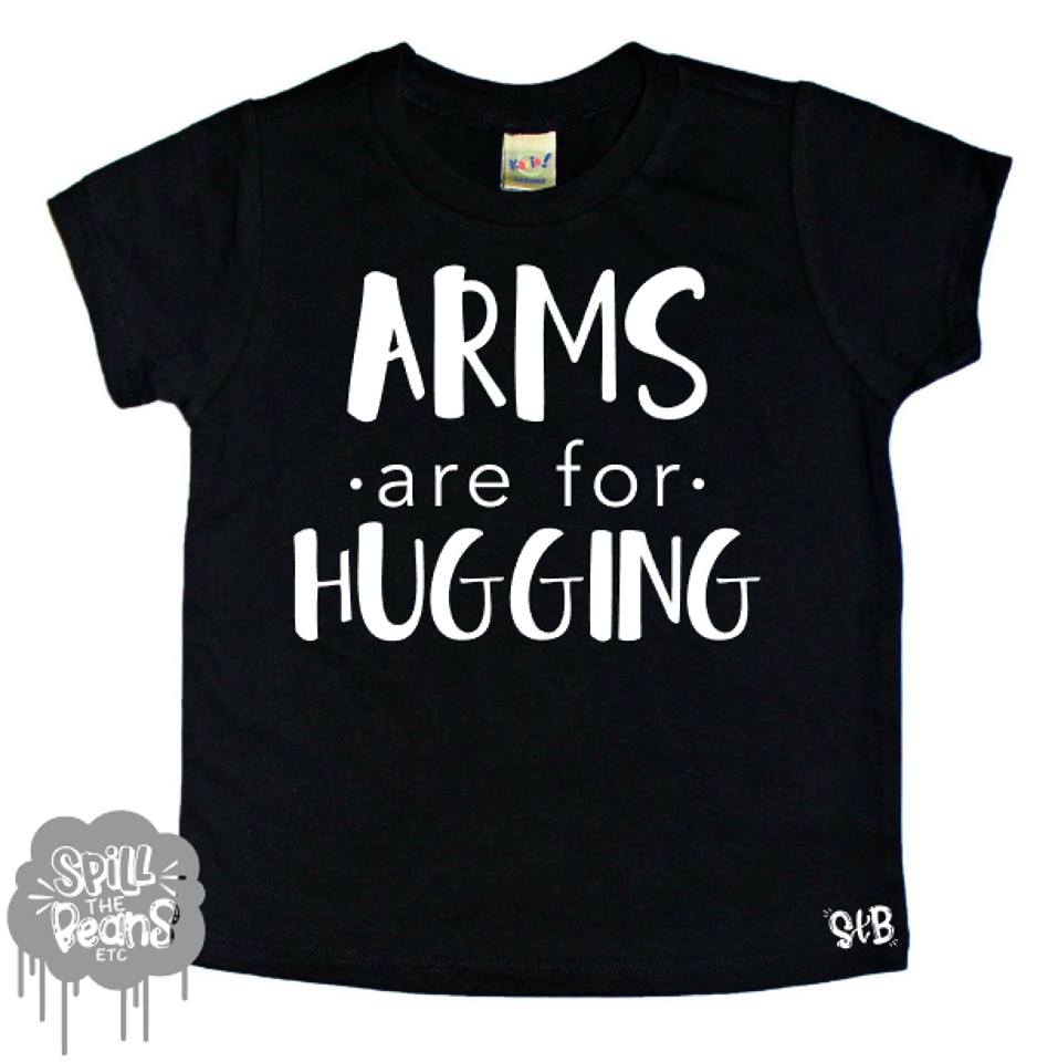 Arms Are For Hugging Kid's Shirt
