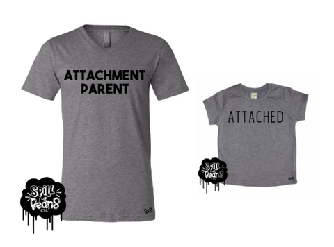 Attachment Parent + Attached Mommy and Me Matching Tee Set