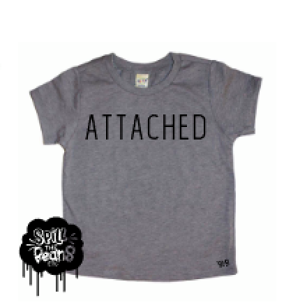 Attached Baby or Kid's Tee