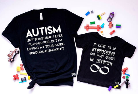 Autism Awareness tour guide Matching Set