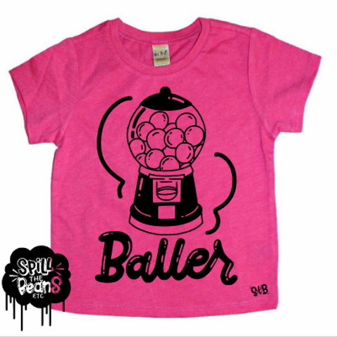 Baller Kid's Bodysuit or Tee