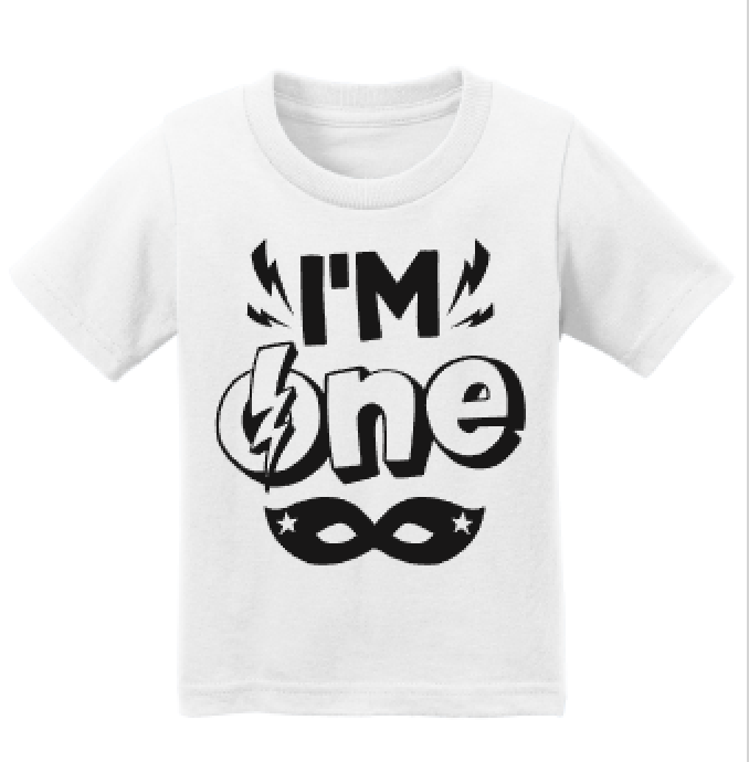 I'm One First Birthday Tee