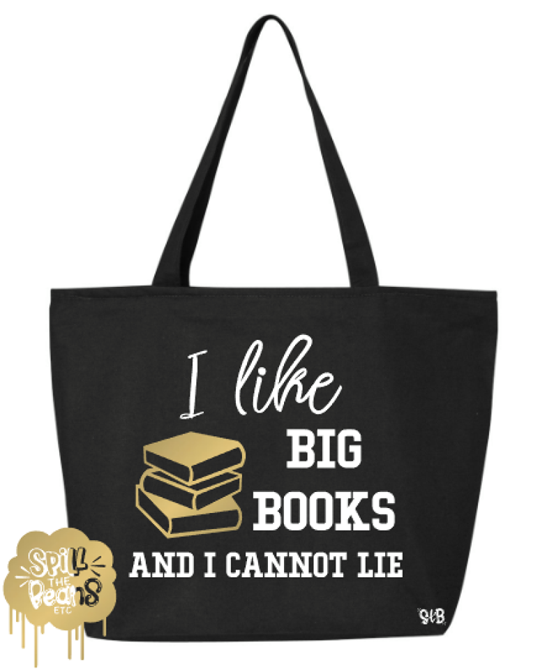 I Like Big Books Canvas Bag