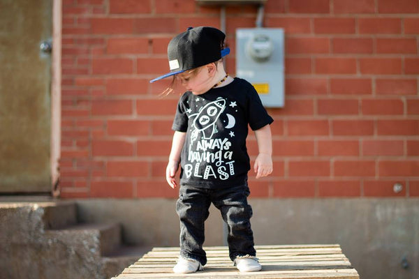 Having A Blast Kid's Tee or Bodysuit