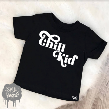 Chill Kid Bodysuit or Tee