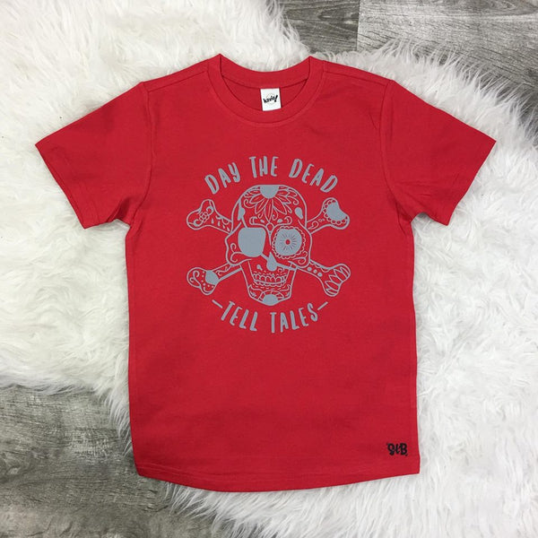 Day The Dead Tell Tales Kid's Tee