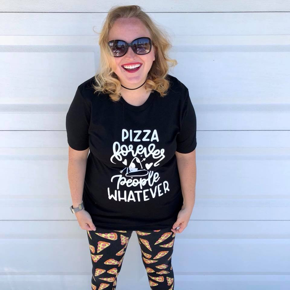 Pizza Forever People Whatever Adult Tank or Tee
