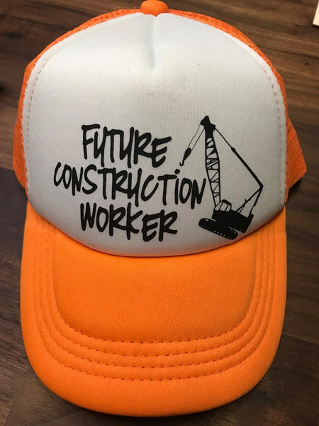 Future Construction Worker Toddler SnapBack Trucker Hat