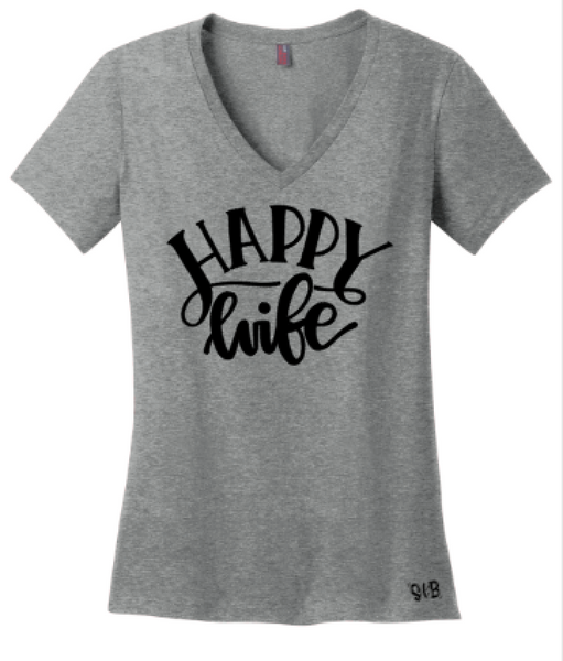 Happy Wife Tee or Tank