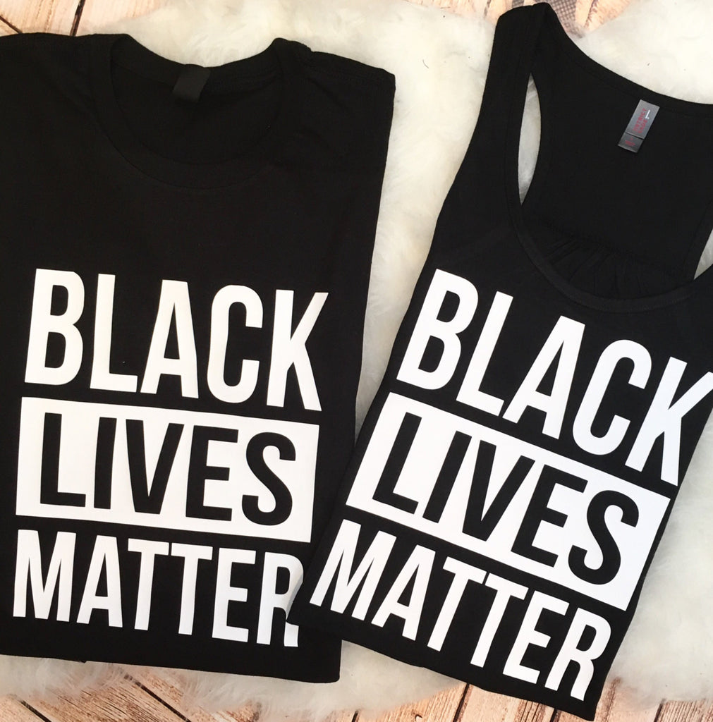 BLACK LIVES MATTER Support Tee Tank plus size available Stand Up Make a Stand Be Kind #blm Shirt #blacklivesmatter